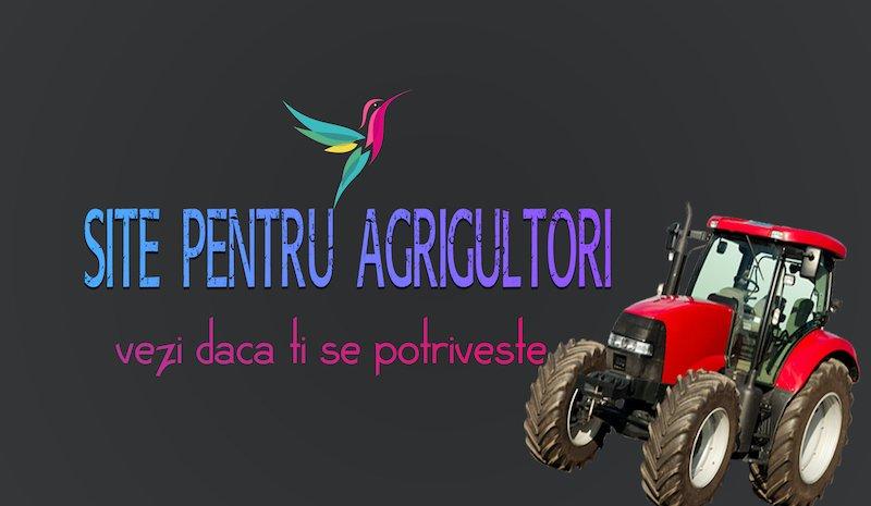 site pentru agricultori