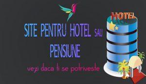 site pentru hoteluri sau pensiuni